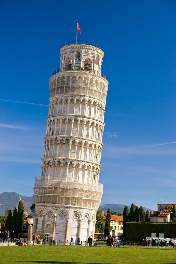 Pisa, la torre inclinada. fotografía de archivo