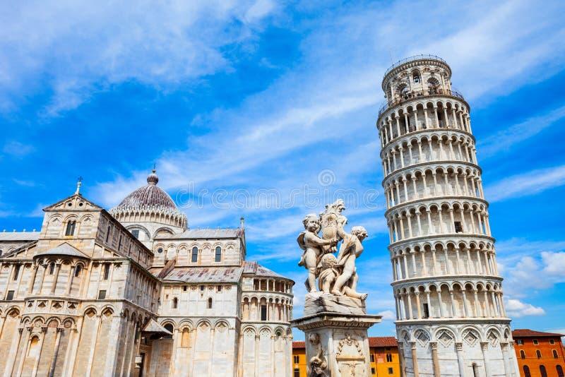 Pisa Leaning Tower in Italië royalty-vrije stock fotografie