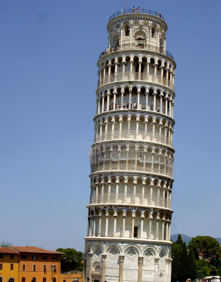 Pisa leaning tower , Italy royalty free stock photo