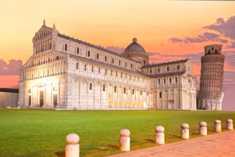 Pisa, miracoli di dei della piazza. immagini stock