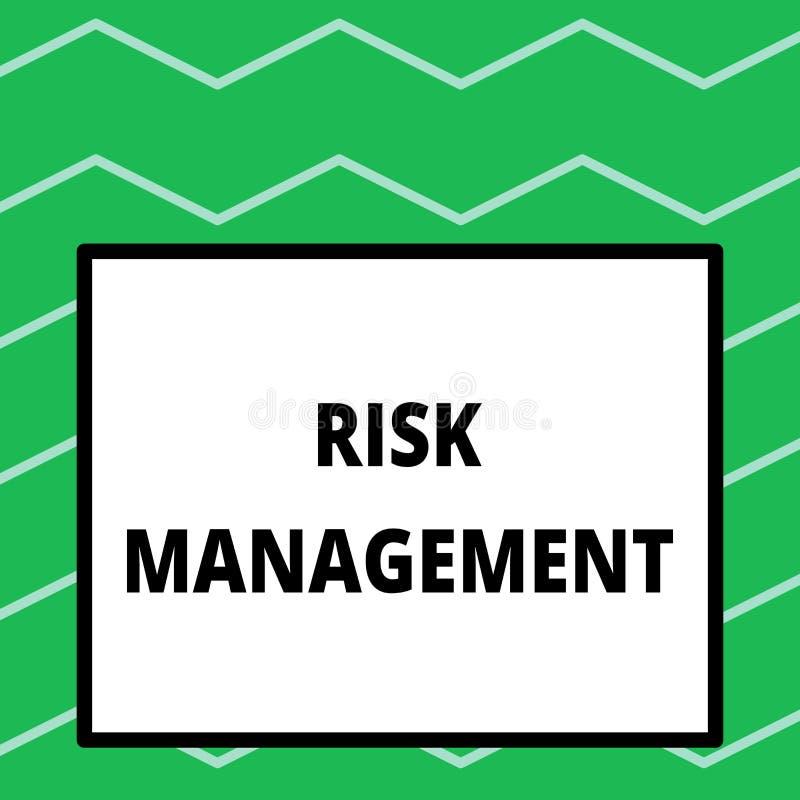 Pisa? nutowym pokazuje zarz?dzaniu ryzykiem Biznesowa fotografia pokazuje cenienie pieniężni zagrożenia lub problemy z ilustracji