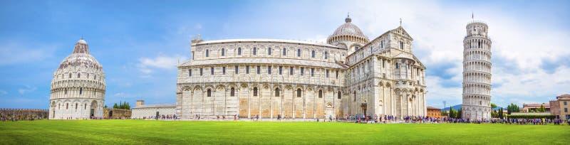 Pisa panorama, Włochy zdjęcia royalty free