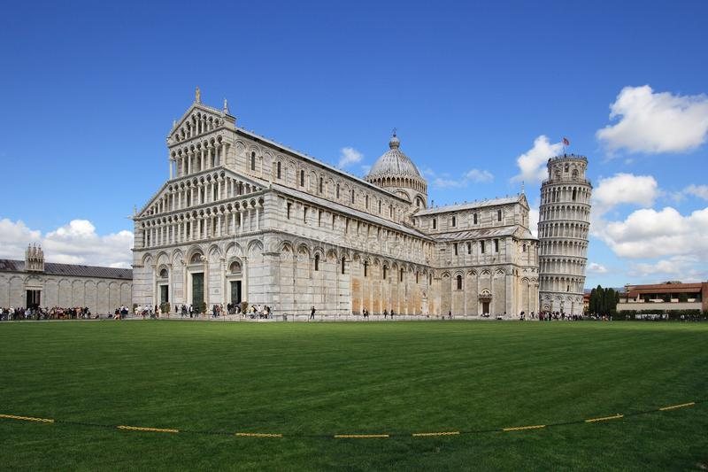 Pisa, Piazza dei miracoli and leaning tower