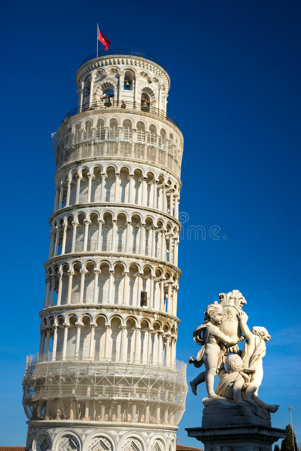 Pisa, Piazza deimiracoli. royalty-vrije stock foto