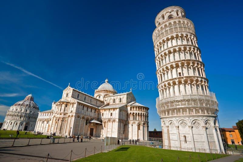 Pisa, Piazza deimiracoli. stock afbeelding
