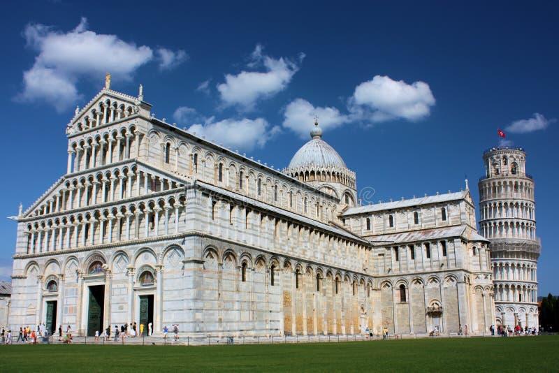 Pisa Piazza del Duomo royalty free stock image