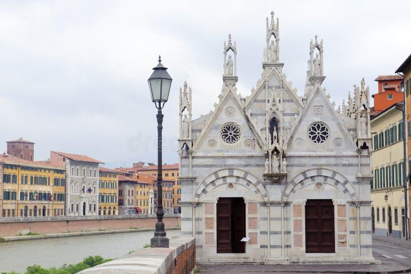 Pisa, Santa Maria della Spina royalty free stock photos