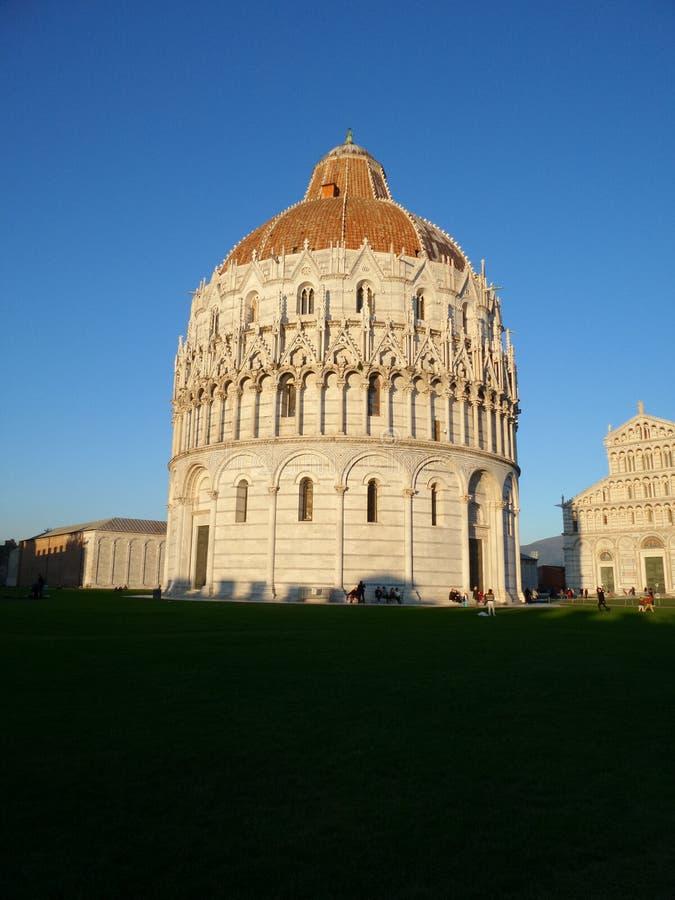 Pisa su historia y su torre foto de archivo