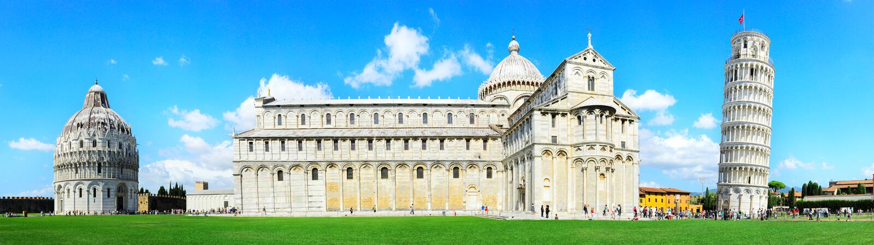 Pisa torn royaltyfria bilder