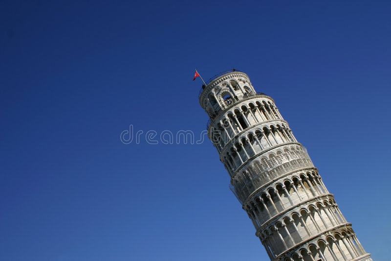 Pisa, a torre inclinada fotos de stock royalty free