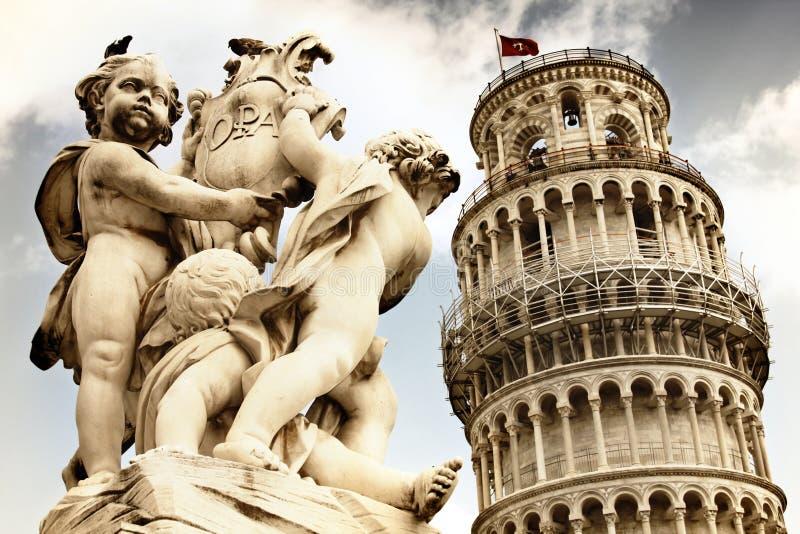 Pisa, Toskana, Italien stockbilder