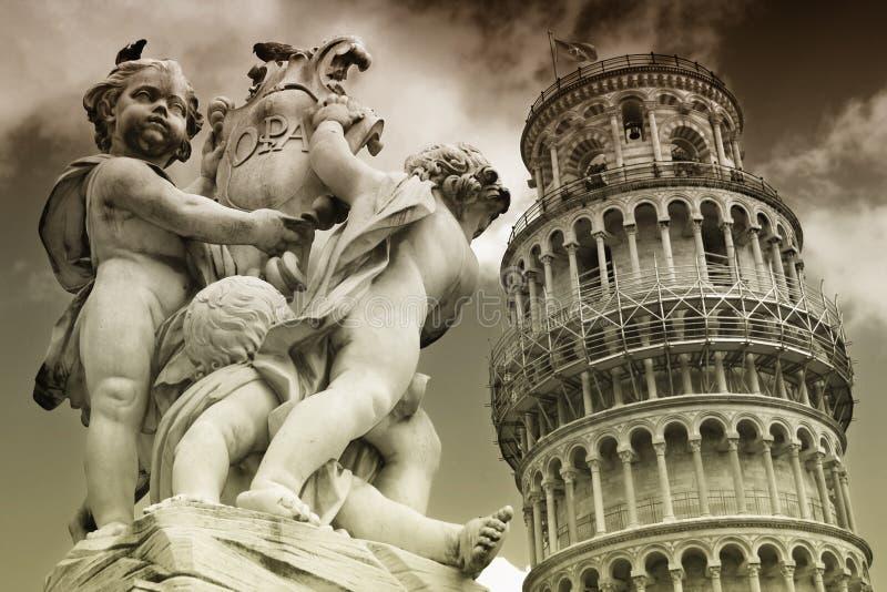 Pisa, Toskana, Italien stockfotos