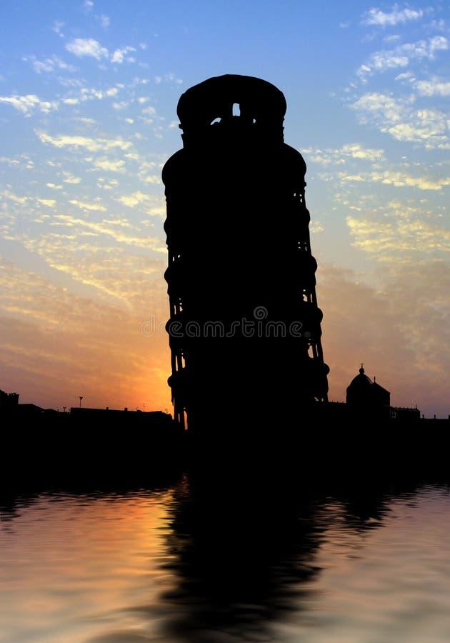 Download Pisa Tower stock illustration. Illustration of reflection - 13339862