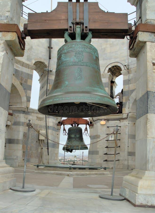 Pisa Tower Bells royalty free stock images
