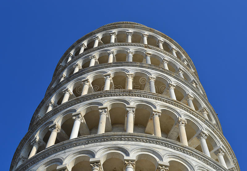Pisa tower details royalty free stock image