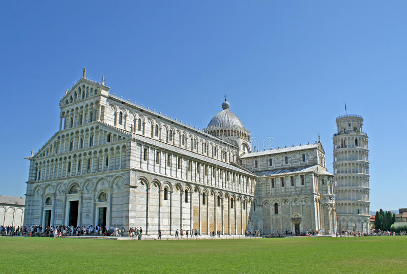 Download Pisa Tower Hanging In The Square Of Miracles Stock Image - Image: 21941139