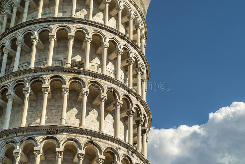 Pisa (Tuscany) - The bending tower royalty free stock photos