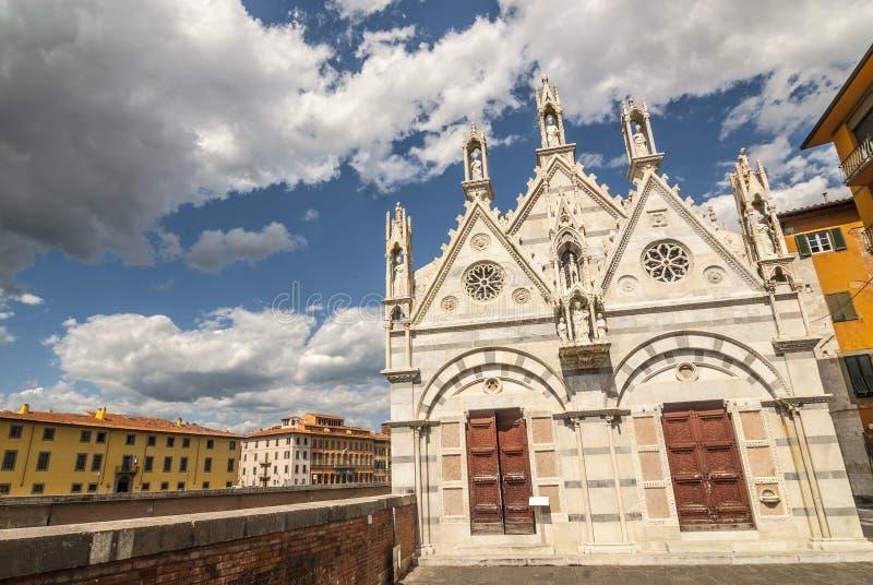 Pisa (Tuscany) - Church of Santa Maria della Spina royalty free stock images