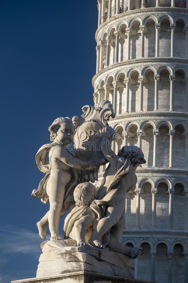 Pisa, Piazza dei Miracoli, famous cathedral square stock image