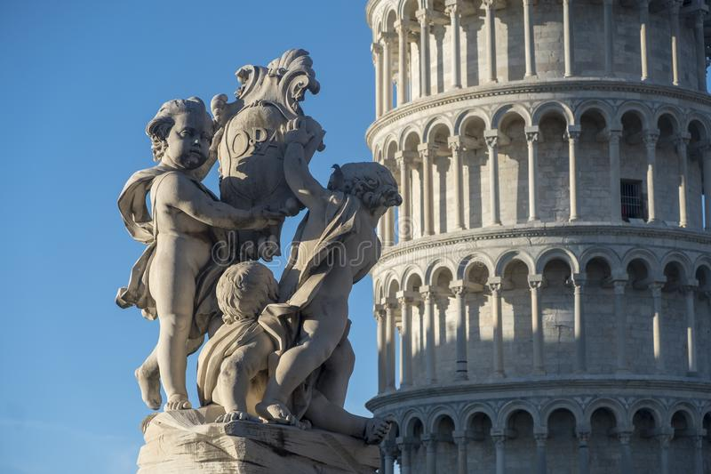Pisa, Piazza dei Miracoli, famous cathedral square royalty free stock image
