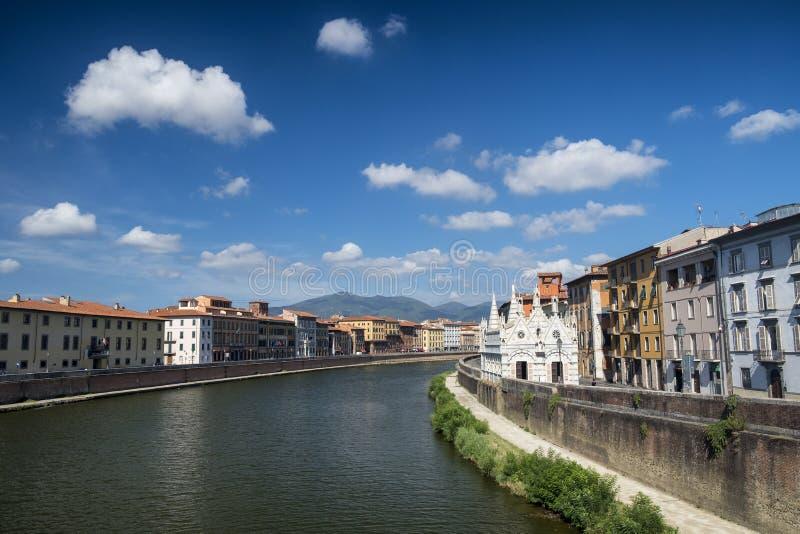 Pisa, historic church stock image