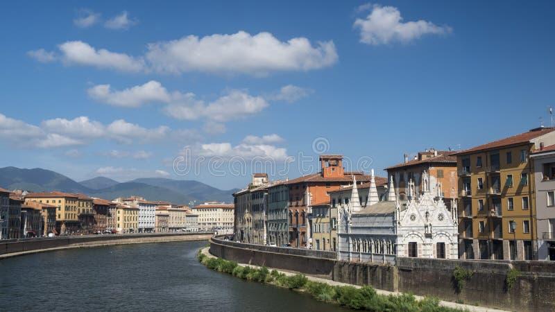 Pisa, historic church stock photo