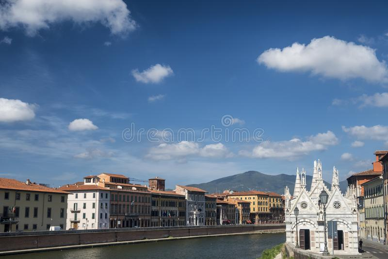 Pisa, historic church royalty free stock photos