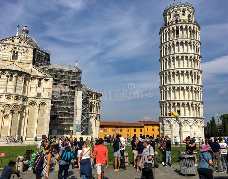 Square of Miracles PIsa Italy royalty free stock images