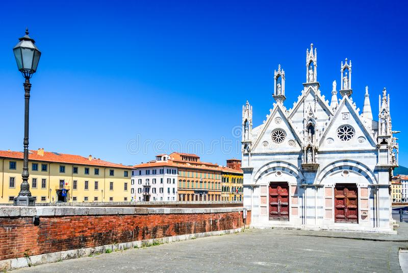 Pisa Tuscany, Włochy, - obraz royalty free