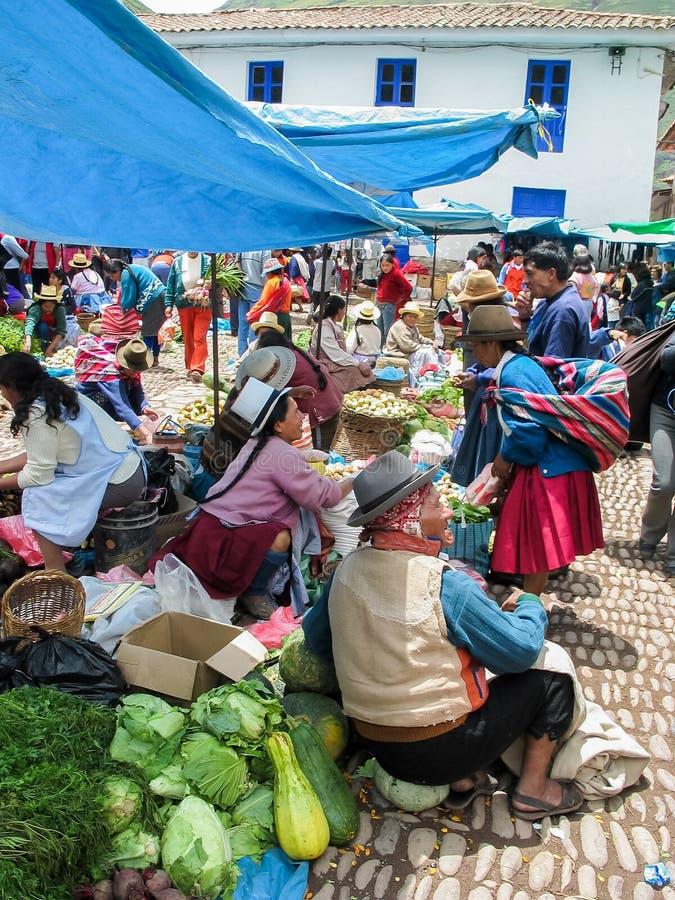 Pisac, Περού στοκ φωτογραφία
