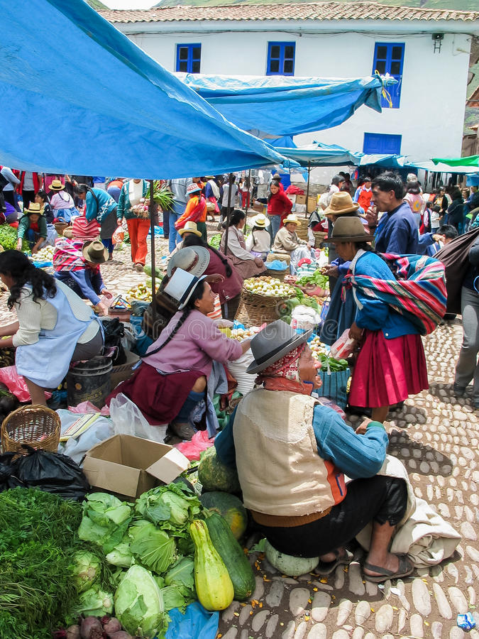 Pisac, Перу стоковая фотография