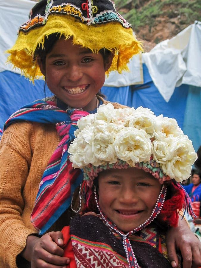 Pisac, Перу стоковые изображения