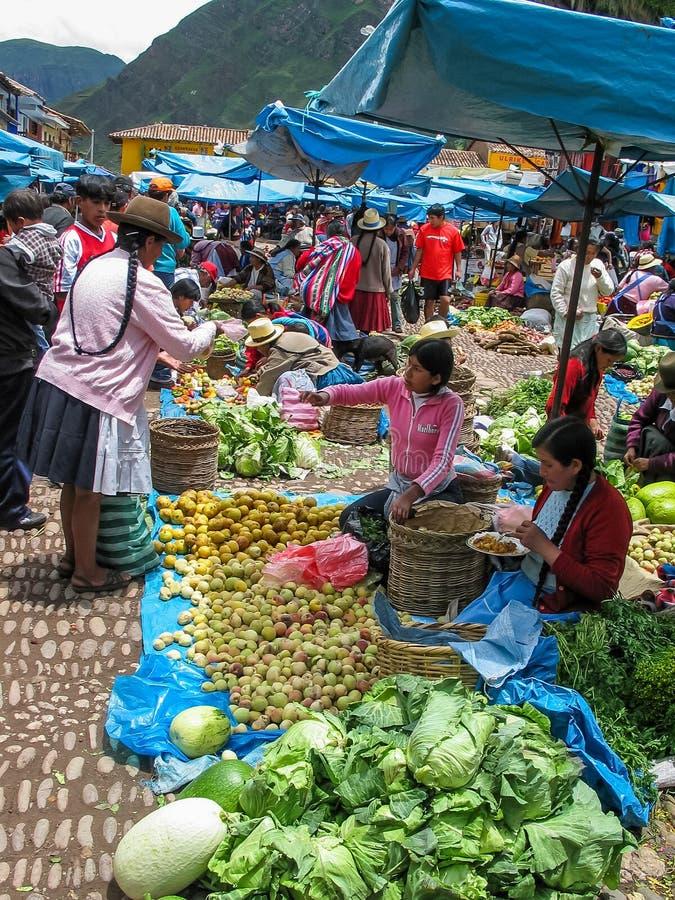 Pisac, Pérou photo libre de droits