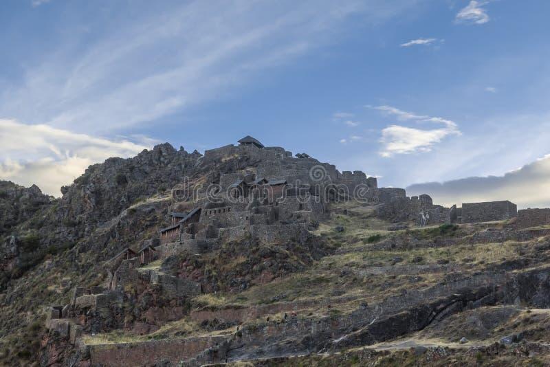 Pisac ruine Cuzco Pérou images libres de droits