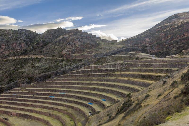 Pisac ruine Cuzco Pérou photos stock