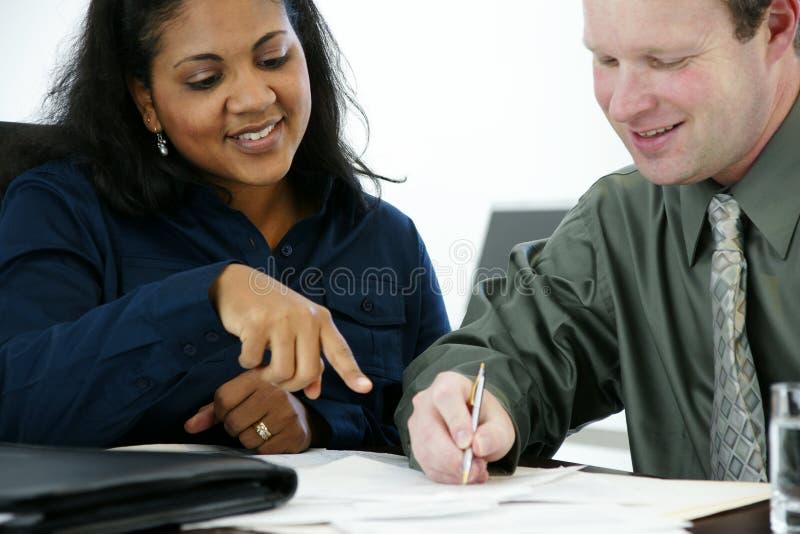 pisanie biznesmena obraz stock