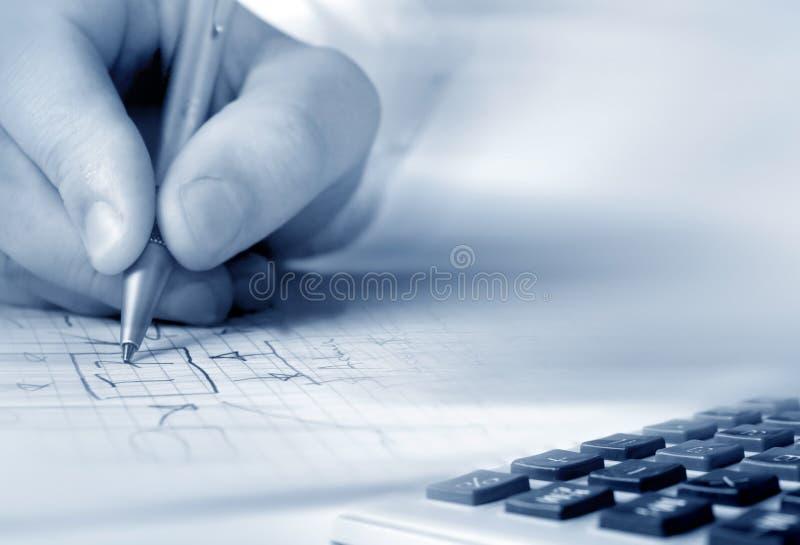 pisanie ręce zdjęcie royalty free