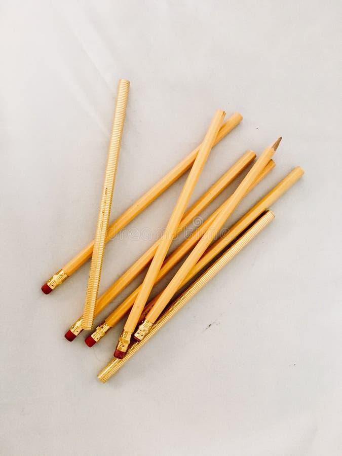 Pisarscy writing narzędzia uczonego biura agenda zdjęcie stock