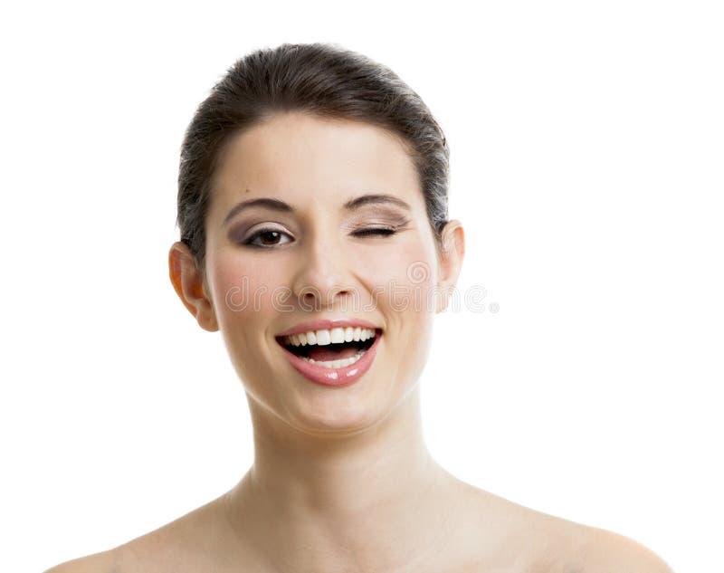 Pisc e sorrir imagem de stock royalty free