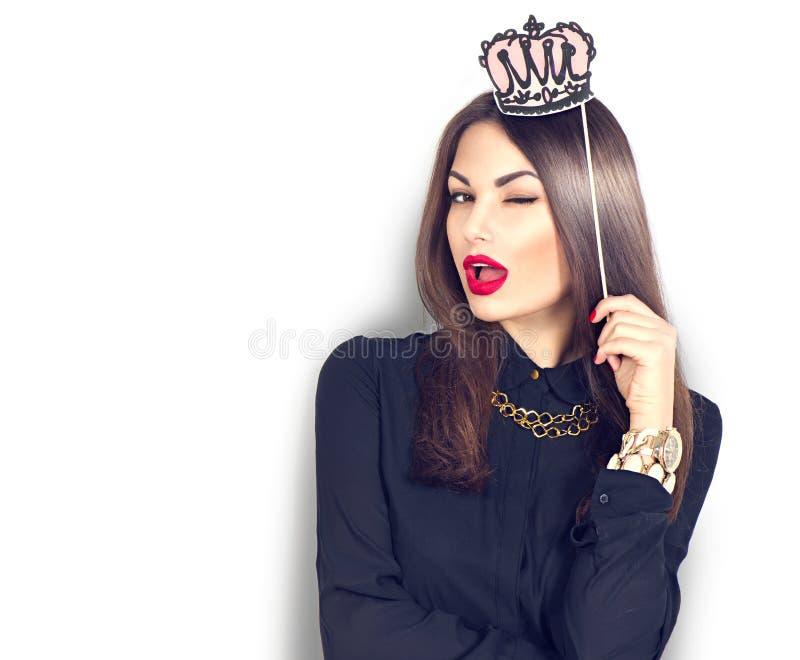 Pisc a menina modelo 'sexy' fotos de stock royalty free