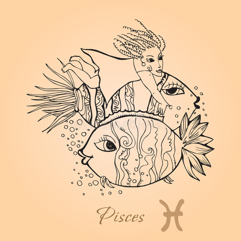 Download Pisces stock vector. Image of pisces, astrology, illustration - 11685177