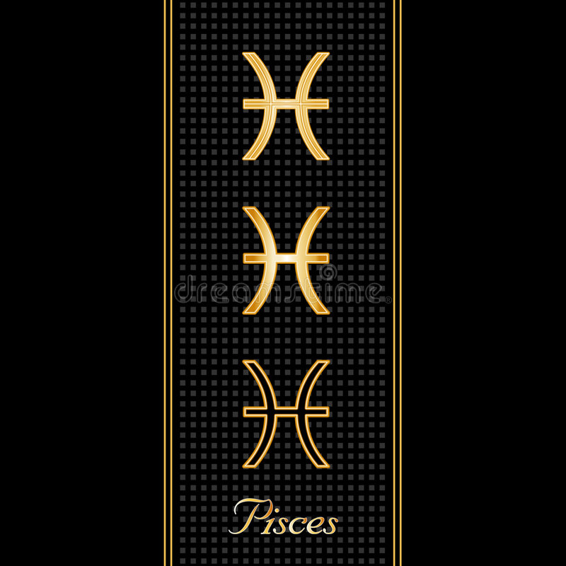Download Pisces Horoscope Symbols Royalty Free Stock Images - Image: 5074329