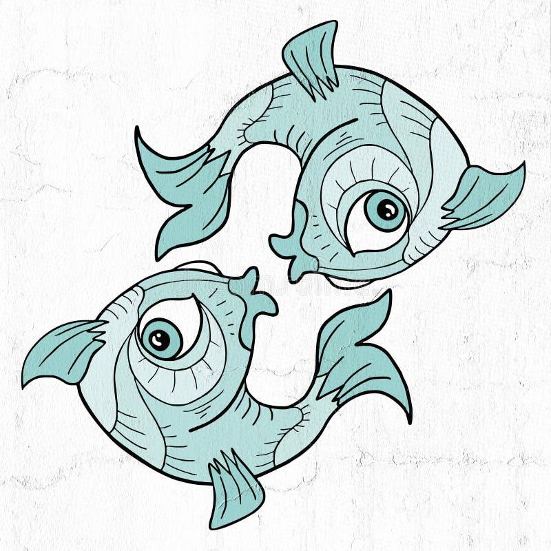 Download Pisces Symbol Stock Illustration Of Creative