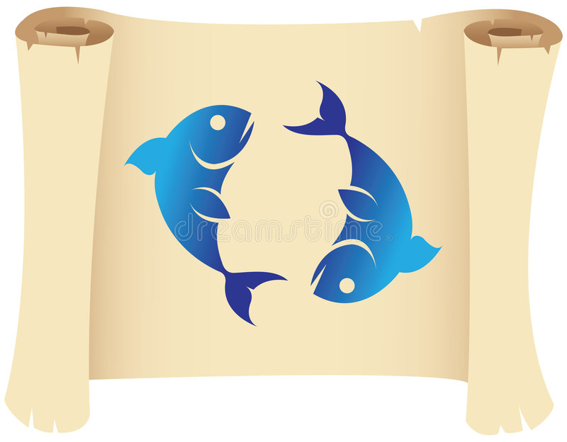 Pisces Zodiac Star Sign Royalty Free Stock Images