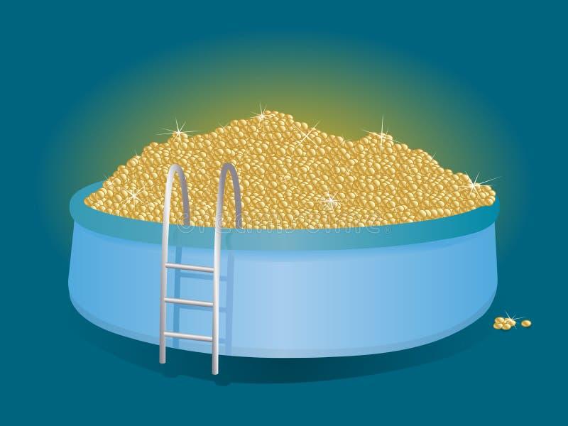 Piscina del dinero libre illustration