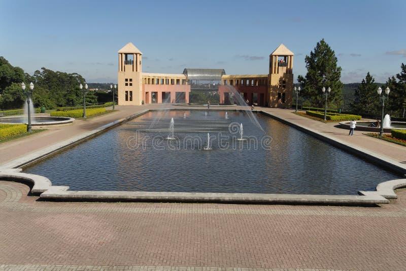 Piscina del parque de Tangua foto de archivo libre de regalías