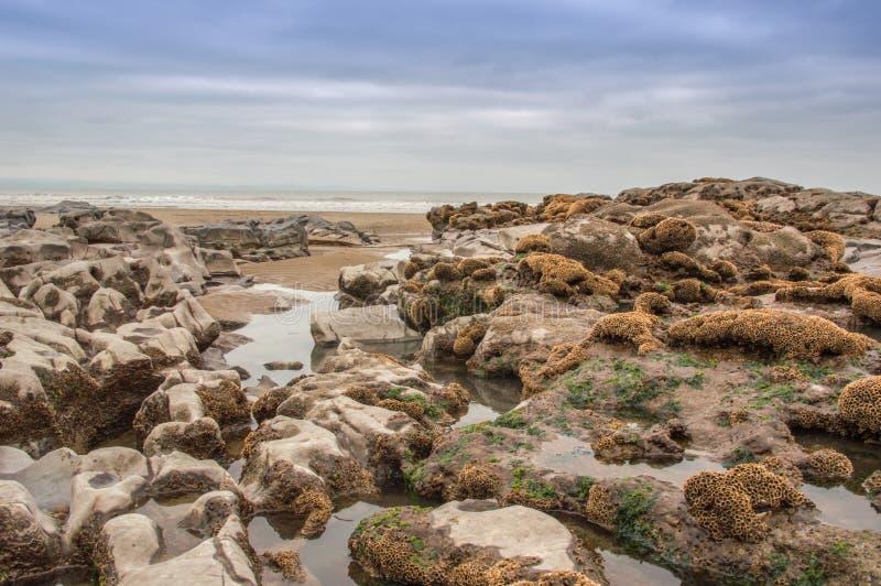 Piscinas de la roca imágenes de archivo libres de regalías