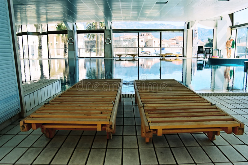 Piscine Photo libre de droits