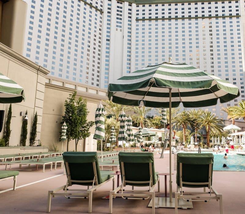 Piscine de Vegas images libres de droits