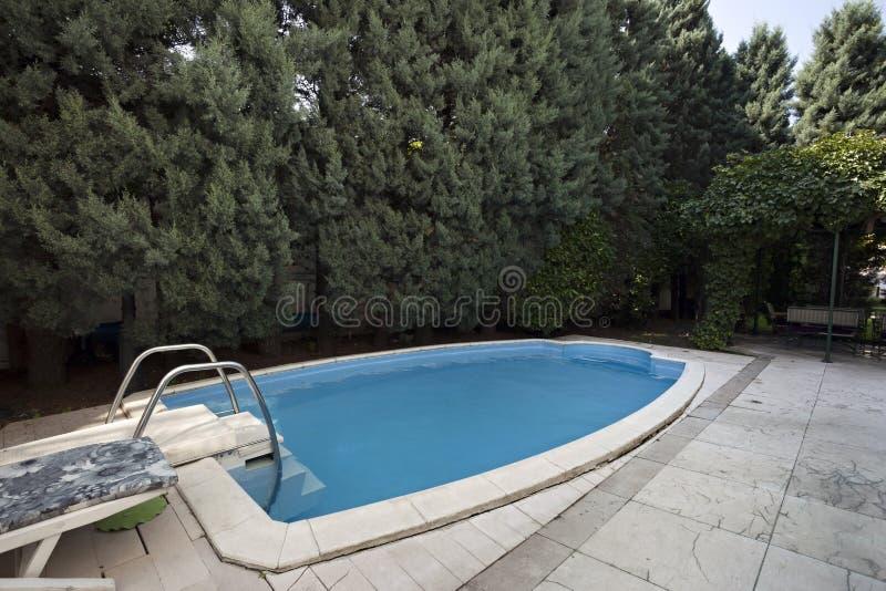 Download Piscine En Villa Classique De Style Image stock - Image du neuf, patrimoine: 45370959